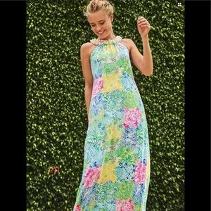 Lilly Pulitzer Shawn Maxi Mult Cheek to Cheek